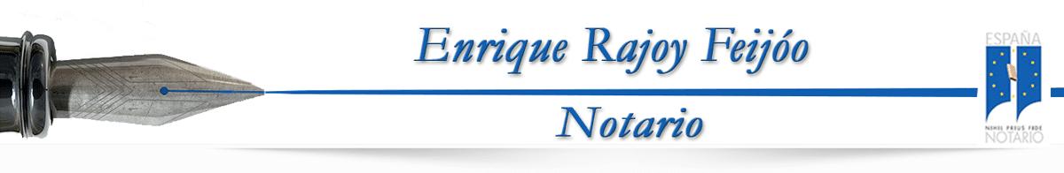 Notario Enrique Rajoy Feijóo Logo